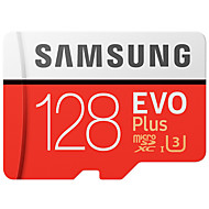 お買い得  PC & タブレット用アクセサリー-SAMSUNG 128GB マイクロSDカードTFカード メモリカード UHS-I U3