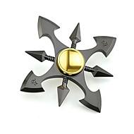 Fidget Spinners Przędzarka ręczna Zabawki Sześć Spinner Metal EDCZabawki biurkowe Za czas zabicia Focus Toy Zwalnia ADD, ADHD, niepokój,