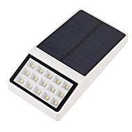 お買い得  LED ソーラーライト-2 W LEDフラッドライト 防水 / 取り付けやすい ナチュラルホワイト 屋外照明 15 LEDビーズ