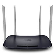 cheap Networking-TP-LINK Smart Wireless router 1200Mbps 11AC  dual band wifi router app enabled TL-WDR6300 chinese version