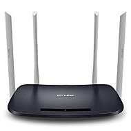 お買い得  -tp-linkスマートワイヤレスルータ1200mbps 11acデュアルバンド無線LANルータ対応アプリtl-wdr6300中国語版
