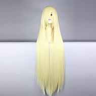 Cosplay Parykker Cosplay Cosplay Lang Ret Anime Cosplay Parykker 100 CM Varmeresistent Fiber