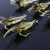 """olcso Fishing & Hunting-10 db Puha csali Horgok Mamac za ribe Puha csali Jerkbaits Garnélarák g / Uncia, 68 mm / 2-1/8"""" 2-11/16"""" hüvelyk, Puha műanyag Szilícium"""