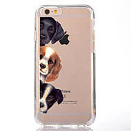abordables Ofertas de Hoy-Funda Para Apple iPhone X / iPhone 8 Transparente / Diseños Funda Trasera Perro Suave TPU para iPhone X / iPhone 8 Plus / iPhone 8