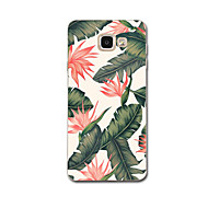 cheap Samsung Accessories Weekly Deals-Case For Samsung Galaxy A7(2017) A3(2017) Ultra-thin Pattern Back Cover Flower Soft TPU for A3(2017) A7(2017) A5(2016) A8 A7 A5