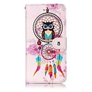 Назначение iPhone X iPhone 8 Чехлы панели Кошелек Бумажник для карт Рельефный С узором Чехол Кейс для Сова Ловец снов Твердый