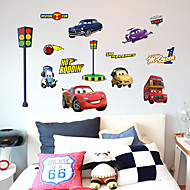 Cartoon Cars 2 Lightning Mcqueen Wall Stickers DIY Childrenu0026#39;s Room Wall  Stickers Part 74