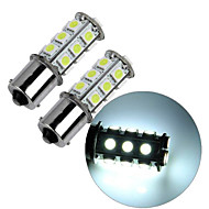 Недорогие Сигнальные огни для авто-2pcs 1156 Автомобиль Лампы 2.5W SMD 5050 195lm Внутреннее освещение