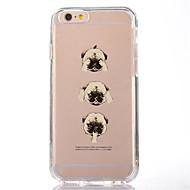 Недорогие Сегодняшнее предложение-Для iphone 7 мультфильм собака ТПУ мягкая ультратонкая задняя крышка случае покрытия для Apple iphone 7 плюс 6s 6 плюс СЕ 5 5 5 4 CS 4