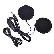 3.5mm jack casco auricular micrófono casco altavoz auriculares enchufe control de volumen mp3 teléfono música para casco accesorios