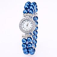 Недорогие Женские часы-Жен. Часы-браслет Китайский Кварцевый Повседневные часы Группа Elegant Белый Красный Розовый Темно-синий