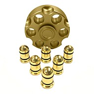 Fidget Spinner Hand Spinner Toys Metal New Hot Cartridge  Revolver Gift High Speed