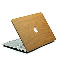 abordables Fundas, Bolsas y Estuches para Mac-MacBook Funda Fibra de Madera Policarbonato para MacBook 12'' / MacBook 13'' / MacBook Air 11''