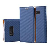 Недорогие Чехлы и кейсы для Galaxy J-Кейс для Назначение SSamsung Galaxy J7 Prime J5 Prime Бумажник для карт Кошелек Кольца-держатели Флип Чехол Сплошной цвет Твердый Кожа PU