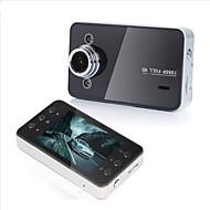 Недорогие Видеорегистраторы для авто-k6000 1080p / full hd 1920 x 1080 автомобиль dvr 120 градусов широкий угол 2,7-дюймовый тире камера с hdr автомобильный рекордер