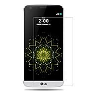 abordables Protectores de Pantalla para LG-Protector de pantalla LG para Vidrio Templado 1 pieza Protector de Pantalla Frontal Dureza 9H Alta definición (HD)
