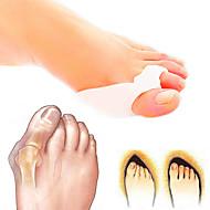 abordables Masajeador de Cuerpo Entero-Cuerpo Completo Pie Soporta Dedo del pie y Separadores de juanete Pad Corrector de Postura Soporta Silicona