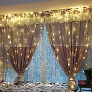 halloween karácsonyi 0.5w string fények világítás 3 * 2m 240led meleg fehér új év