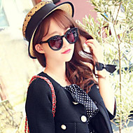 Женская мода Чистая Пряжа Кружева Соломенная шляпка