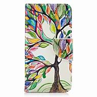 Für Samsung Galaxy j7 (2017) j5 Prime Case Cove Card Halter Brieftasche mit Stand Flip Muster Fall Ganzkörper Fall Baum hart PU Leder j5