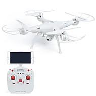 お買い得  ラジコン おもちゃ-RC ドローン ZSR/C ZSRC Z1W 4チャンネル 6軸 2.4G 0.3MP HDカメラ付き 30 ラジコン・クアッドコプター LEDライト ワンキーリターン フェイルセーフ ヘッドレスモード 360°フリップフライト アクセスリアルタイム映像 ホバー