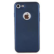 Voor Hoesje cover Stofbestendig Volledige behuizing hoesje Effen Kleur Zacht TPU voor AppleiPhone 7 Plus iPhone 7 iPhone 6s Plus iPhone 6