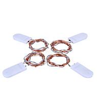 halpa LED-hehkulamput-KWB 8m Koristevalot 80 LEDit Lämmin valkoinen / Valkoinen / Monivärinen