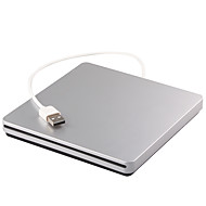 cheap Computer Peripherals-Portable USB 2.0 External DVD RW Drive Burner Writer recorder For macbook Laptop Notebook