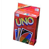 abordables Juegos-Juegos de Mesa Juego de Cartas UNO El plastico Piezas Unisex Niños Regalo