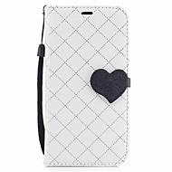 Кейс для Назначение SSamsung Galaxy A5(2017) A3(2017) Кошелек Бумажник для карт со стендом Флип Магнитный Чехол С сердцем Твердый