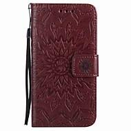 Do huawei p9 lite p9 pokrowiec pokrowiec portmonetka portfel z podstawką klapką magnetyczną wytłaczany pełny korpus przypadku kwiat twardy