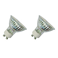 3W Żarówki punktowe LED MR16 60 SMD 3528 280-320 lm Ciepła biel Biały V 2 sztuki
