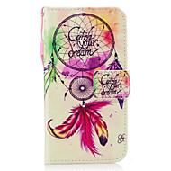 Назначение Чехлы панели Бумажник для карт Кошелек со стендом Флип С узором Магнитный Чехол Кейс для Ловец снов Твердый Искусственная кожа