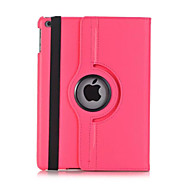 Novo para ipad 2017 à prova de choque com suporte flip 360 rotação caso magnético caixa de corpo cheio couro sólido couro duro para ipad