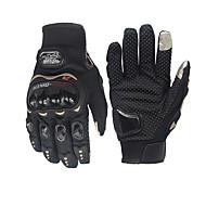 abordables Guantes para Moto-motocicleta guante de ciclista ciclismo ciclismo guantes de carreras motocicleta dedo completo guantes antideslizantes