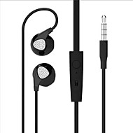cheap Headsets & Headphones-Cwxuan Earbud Wired Headphones Plastic Sport & Fitness Earphone with Volume Control with Microphone Headset