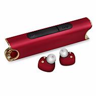 저렴한 헤드셋 & 헤드폰-충전기 및 마이크 이어 이어폰이있는 binaural 블루투스 헤드셋 고음질 잡음 감소 헤드폰