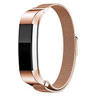 voordelige Smartwatch-accessoires-Horlogeband voor Fitbit Alta Fitbit Sportband Roestvrij staal Polsband