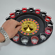 cheap Toy & Game-Board Game Bar Articles Russian Turntable Plastics Glass Pieces Boys' Kid's Adults' Gift