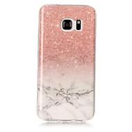 Χαμηλού Κόστους Galaxy S5 Θήκες / Καλύμματα-tok Για Samsung Galaxy S8 Plus / S8 IMD Πίσω Κάλυμμα Μάρμαρο Μαλακή TPU για S8 Plus / S8 / S7 edge