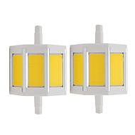 お買い得  LED スポットライト-2pcs 4 W 150 lm R7S LEDスポットライト 3 LEDビーズ COB 温白色 / クールホワイト 85-265 V / RoHs
