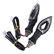 Недорогие Сигнальные огни для авто-ZIQIAO 4шт Автомобиль Лампы Лампа поворотного сигнала For Универсальный