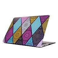 """お買い得  MacBook 用ケース/バッグ/スリーブ-MacBook ケース 幾何学模様 プラスチック のために 新MacBook Pro 15"""" / 新MacBook Pro 13"""" / MacBook Pro 15インチ"""
