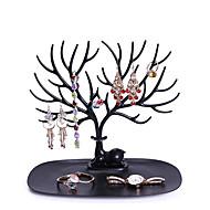 abordables Almacenamiento de escritorio-collar sostenedor del soporte de la pulsera organizador de la joyería árbol de la joyería diseño del árbol de la cornamenta de los ciervos decorativos