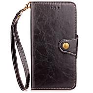 Case voor xiaomi redmi 4x notitie 4 case cover kaarthouder portemonnee met tribune flip full bodycase solide kleur hard pu leer voor redmi