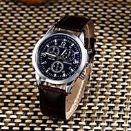 Муж. Повседневные часы Спортивные часы Модные часы Китайский Кварцевый Защита от влаги Кожа Группа Творчество На каждый день Elegant