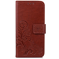 Case For Samsung J7 (2017) J5 (2017) Case Cover Card Holder Wallet with Stand Flip Embossed Full Body Case Flower Hard PU Leather for  J3 (2017)