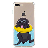 Недорогие Сегодняшнее предложение-Назначение iPhone X iPhone 8 Чехлы панели С узором Задняя крышка Кейс для С собакой Мягкий Термопластик для Apple iPhone X iPhone 8 Plus