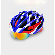 abordables Ciclismo y Bicicleta-Casco de bicicleta Ciclismo 22 Ventoleras One Piece Gafas Accesorios Set Ciclismo