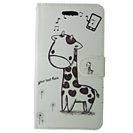 Недорогие Чехлы и кейсы для Galaxy S-Кейс для Назначение SSamsung Galaxy S8 S7 Бумажник для карт Кошелек со стендом Флип Чехол Мультипликация Животное Твердый Кожа PU для S8